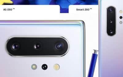 Camera trên Samsung Note 10