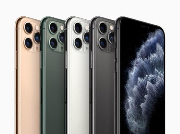 iPhone 11 Pro có 4 phiên bản màu sắc