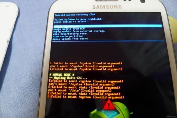 Chọn Reboot System Now để khôi phục lại cài đặt của thiết bị