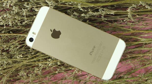 Phiên bản màu vàng chỉ có trên iPhone 5S