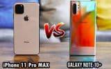 So sánh camera iPhone 11 Pro Max và Galaxy Note 10+