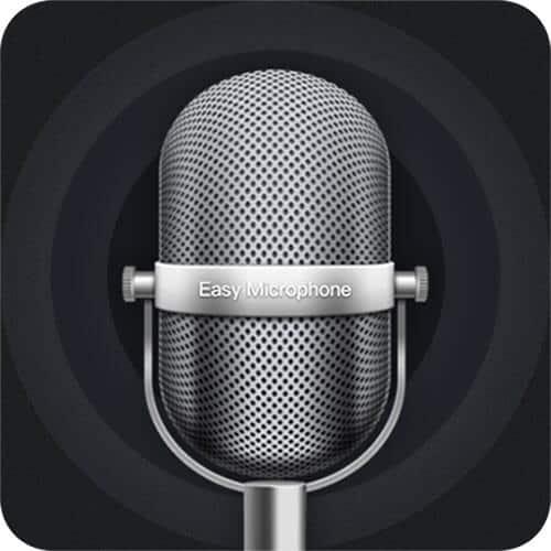 Ứng dụng Microphone dành cho điện thoại iPhone