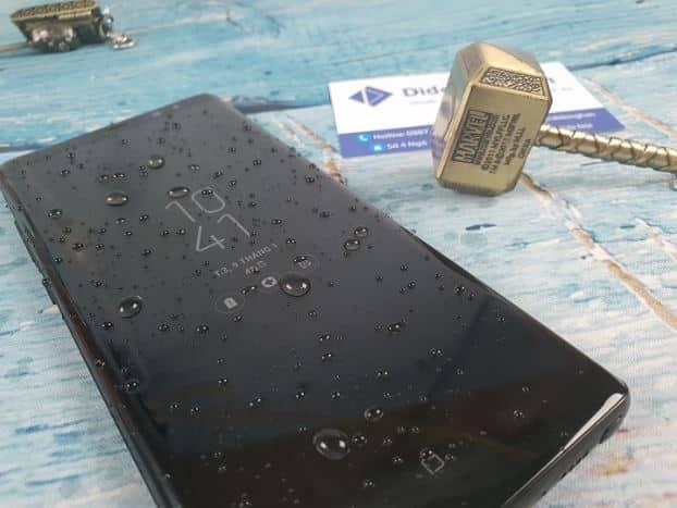 Note 9 có chống nước không