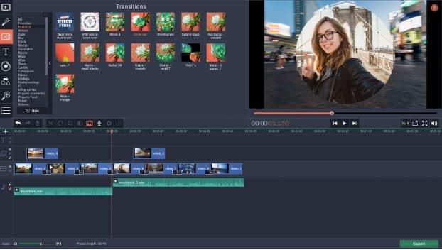 Công cụ Movavi để chỉnh sửa video trên máy tính