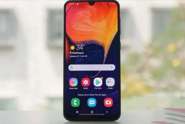 Galaxy A50 vẫn có thể kháng nước ở một giới hạn nào đó