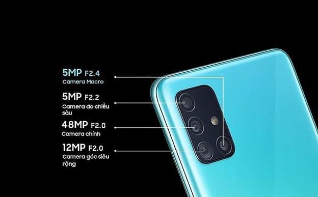 Galaxy A51 nổi bật với camera marco chụp cận cảnh đầu tiên