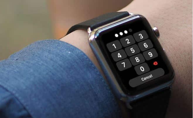 Hãy tạo cho mình một mật khẩu để bảo vệ Apple Watch