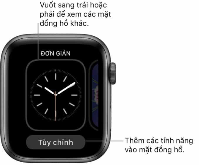Thêm, xóa, thay đổi mặt đồng hồ một cách đơn giản