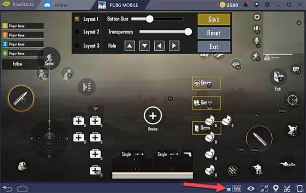 Chơi game trên Bluestacks sẽ trở nên dễ dàng hơn với sự hỗ trợ của các nút điều khiển