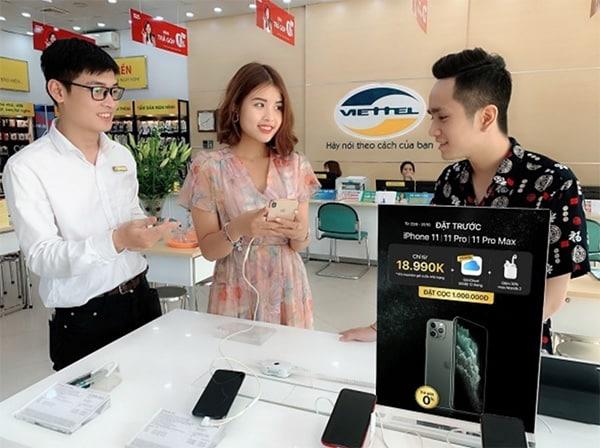 Mua máy được tặng kèm miễn phí các gói dịch vụ nhà mạng