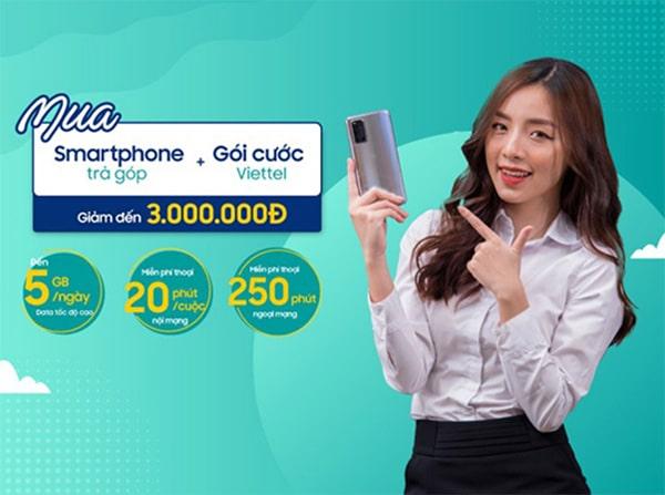 Viettel Store triển khai chương trình mua điện thoại kèm gói cước