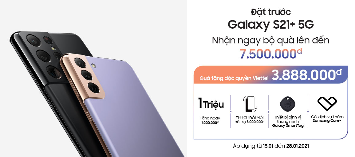 Đặt trước Samsung Galaxy S21 Ultra