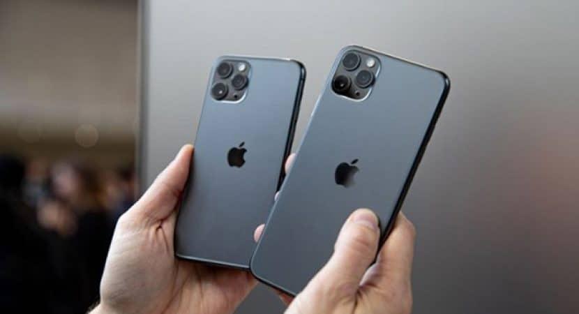 So sánh kích thước iPhone 11 Pro và iPhone 11 Pro Max