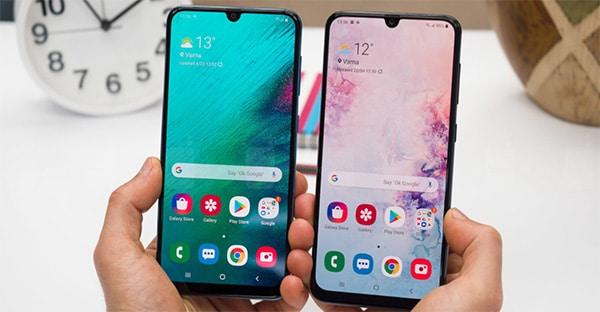 So sánh cấu hình Galaxy A50 và A50s