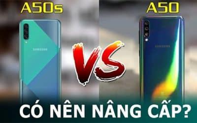 So sánh màn hình và thiết kế A50 và A50s