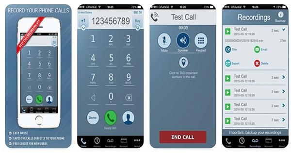 Ứng dụng Call Recorder – IntCall