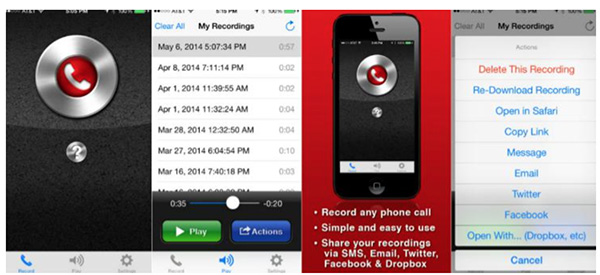 Ứng dụng Call Recorder Plus