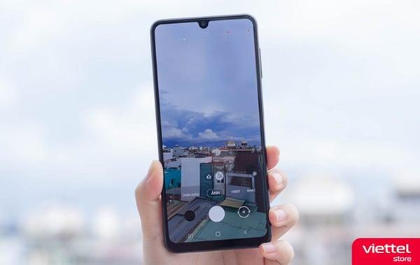 Samsung Galaxy A22 cùng hệ thống camera 48MP trang bị OIS