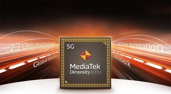 OPPO Reno6 Z 5G được trang bị con chip Dimensity 800U cùng công nghệ 5G hiện đại nhất