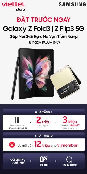 Mua Galaxy Z Fold3 5G tại Viettel Store