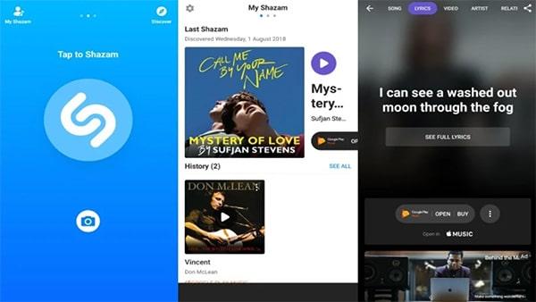 Cách tìm nhạc trong video bằng ứng dụng trên smartphone