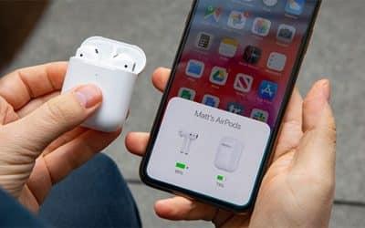 Cách kiểm tra pin Airpods trên iPhone