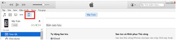 Cách sao lưu danh bạ từ iPhone sang iTunes