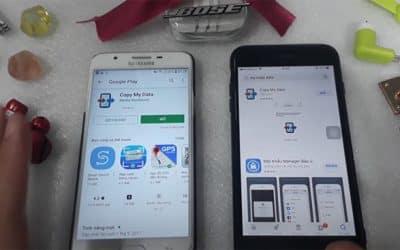 Cách chuyển danh bạ từ iPhone sang Android bằng Copy My Data