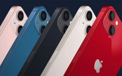 iPhone 13 và các tùy chọn màu sắc.