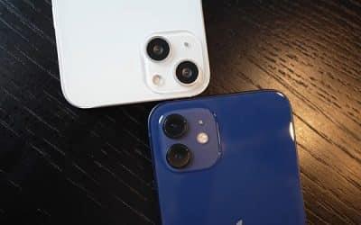 iPhone 13 mini vẫn sử dụng cụm camera kép 12MP